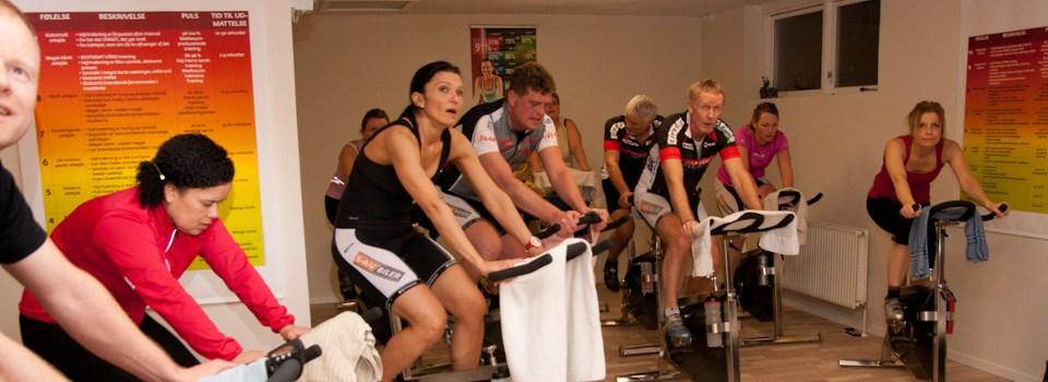 Indoor cycling. Galten FS